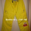 bonfire-gr-l-neu-hose-gelb